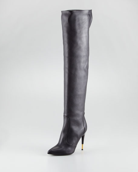 Tom FordOver-the-knee leather boots kA4l3uahjT