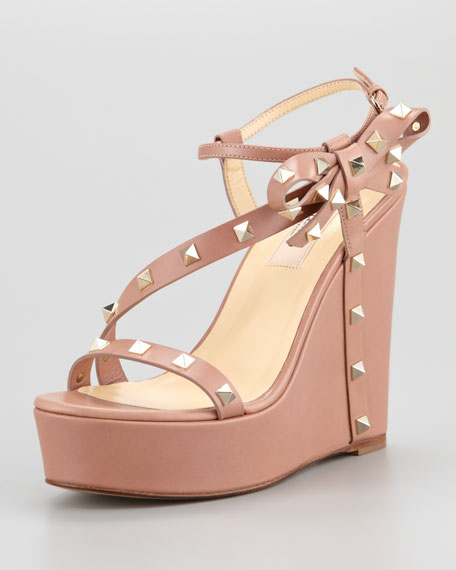 Valentino Bow Platform Sandals discount best seller marketable sale online buy cheap discount cheapest price MEo1vk909