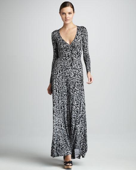 be61331e054c8 Rachel Pally Print Wrapped Maxi Dress, Women's