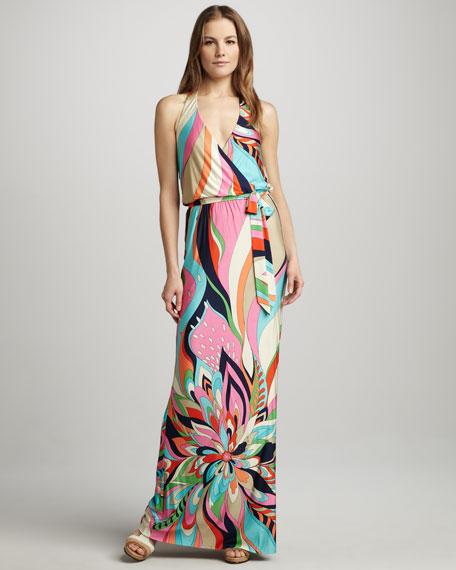 f519ff0759 Trina Turk Surfside Printed Halter Maxi Dress