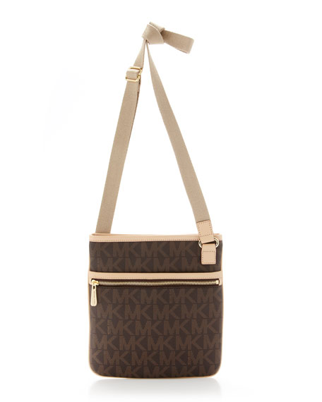 Large Crossbody Bag Brown