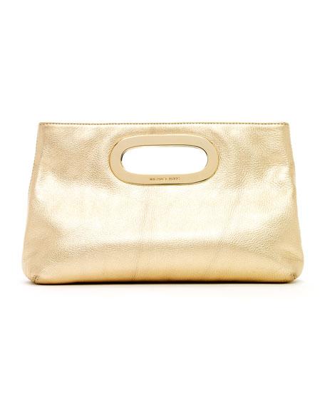 Berkley Clutch Bag Pale Gold
