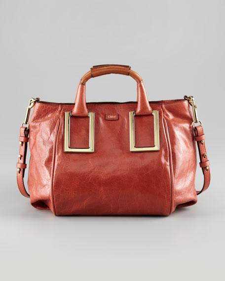 Chloe Ethel Zip-Top Tote Bag 4a6f3da7e