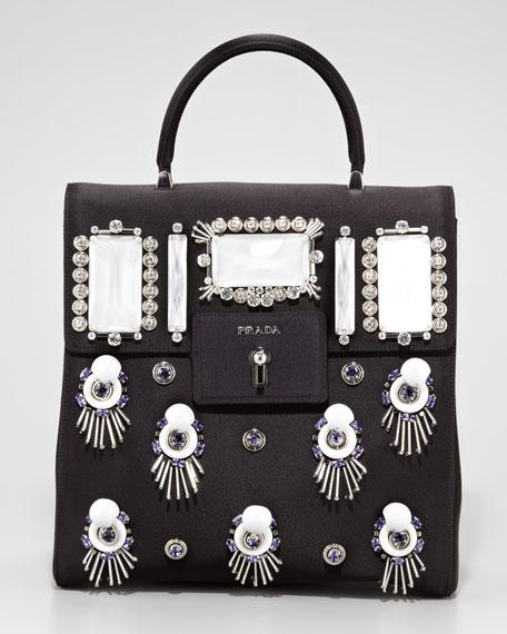 Prada Raso Ricamo Handbag d79c2000df175