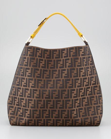 72513123848f Fendi Zucca Large Hobo Bag