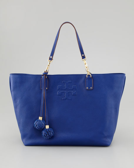db2c39d721 Tory Burch Thea Large Tote Bag, Royal Ocean