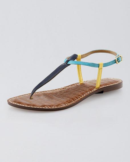 cea538d7e2e38c Sam Edelman Gigi Colorblock Thong Sandal. Gigi Colorblock Thong Sandal