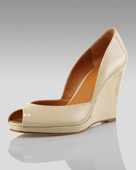 7ac44f4f34d1 MICHAEL KORS Vail Wedge Pump (CUSP Most Loved!)
