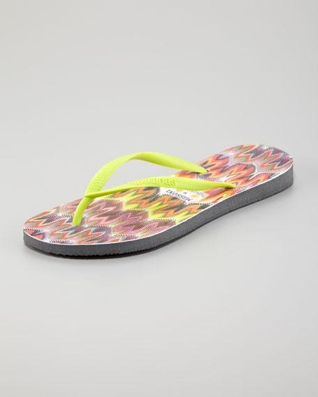 95706acff Havaianas Missoni Tops Flip Flops