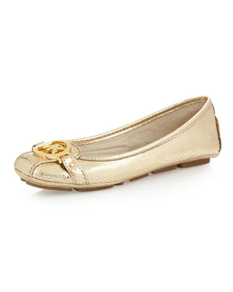 MICHAEL Michael Kors FULTON MOC - Ballet pumps - pale gold pYimq