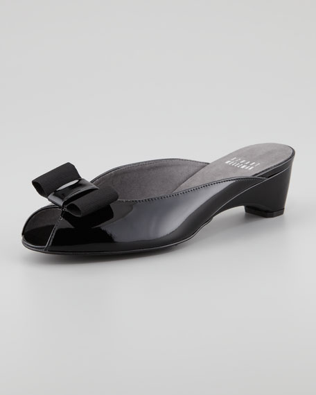 Stuart Weitzman Patent Leather Mules discount free shipping 9t6j0zYv25