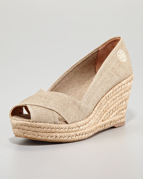 sast cheap price Tory Burch Filipa Espadrille Wedges cheap sale limited edition GckUYn