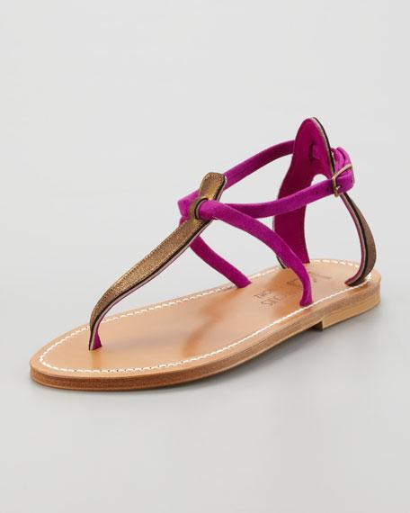 K. K. Jacques Strappy Sandals - Metallic Sandales À Lanières - Jacques Métalliques EbTwlS