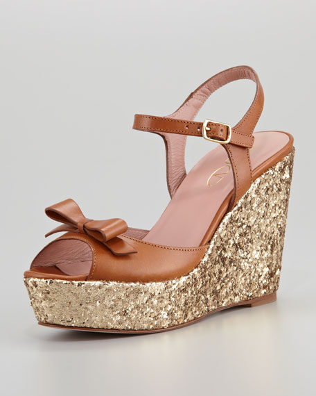 RED Valentino Leather Sandal EawUom