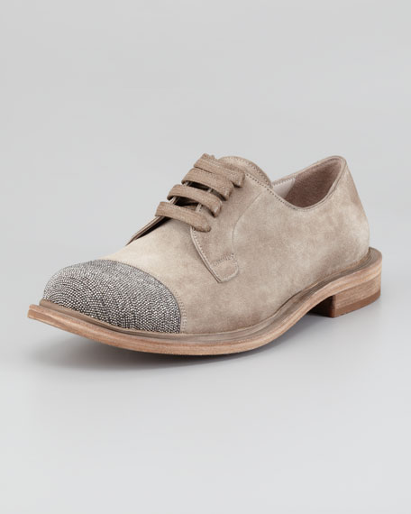 fake online wholesale price cheap price Brunello Cucinelli Cap-Toe Platform Oxfords outlet 2014 buy cheap price discount order Lf0FdMf