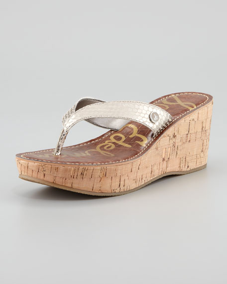 Romy Wedge Gold Sandal Light Romy Wedge mwN8vn0