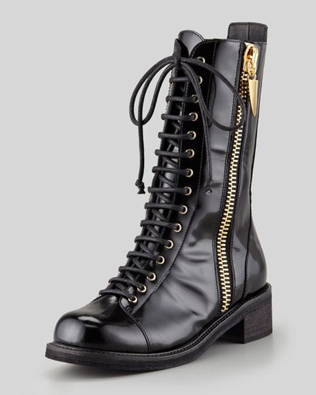 Giuseppe Zanotti Women's Combat Boot iGb2NAq