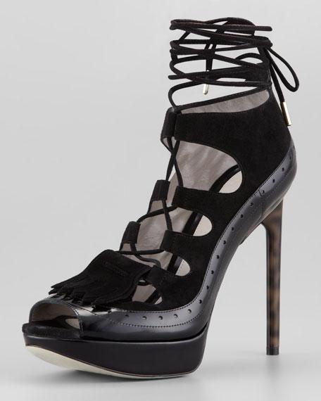Jason Wu Suede Platform Sandals discount store flvpoC1M