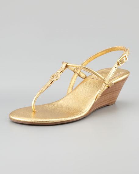 Emmy Demi Wedge Sandal Gold