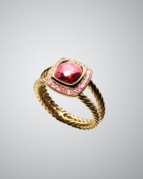 cbe32acdc68ba Garnet & Ruby Cable Candy Ring