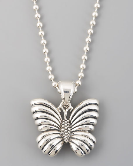 Lagos rare wonders butterfly pendant necklace mozeypictures Images