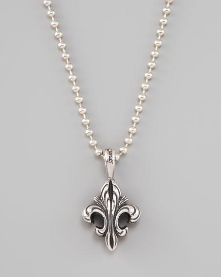 Lagos fleur de lis pendant necklace fleur de lis pendant necklace mozeypictures Images