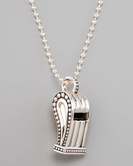 Lagos whistle pendant necklace mozeypictures Images