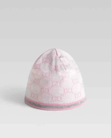 44f7d7f1 Gucci Children's GG Pattern Hat