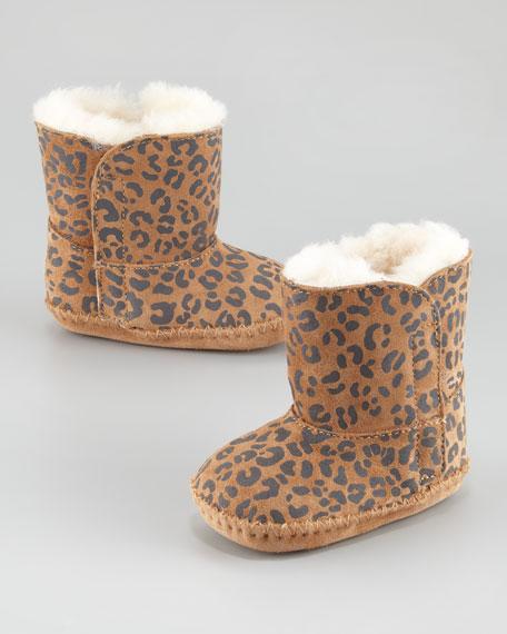 ugg australia cassie leopard-print boot, infant