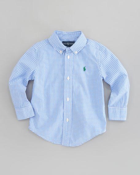 e82a4073e Ralph Lauren Childrenswear Blake Long Sleeve Gingham Shirt, Sizes 2T-7