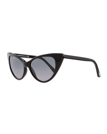 e88ce9fc507 TOM FORD Nikita Cat Eye Sunglasses