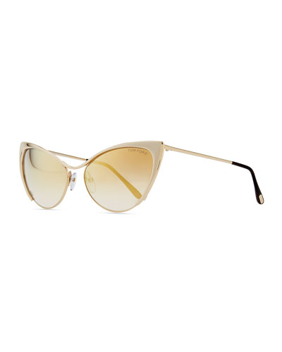 tom ford nastasya metal cat eye sunglasses. Cars Review. Best American Auto & Cars Review