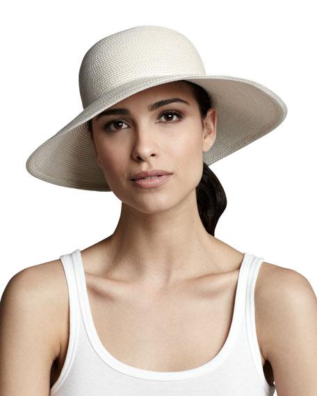 00320d80 Eric Javits Squishee IV Hat, Cream
