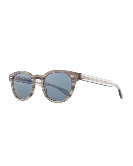 Photochromic Round Sheldrake Tortoise Gray Sunglasses wOPknXN08