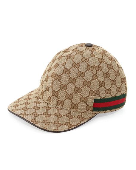 1a8f23c862058 Gucci GG Canvas Baseball Hat