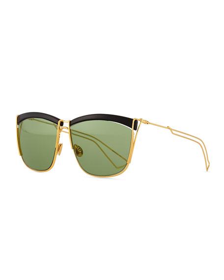 a7fdfb99da Dior Metal Wire Rectangle Sunglasses