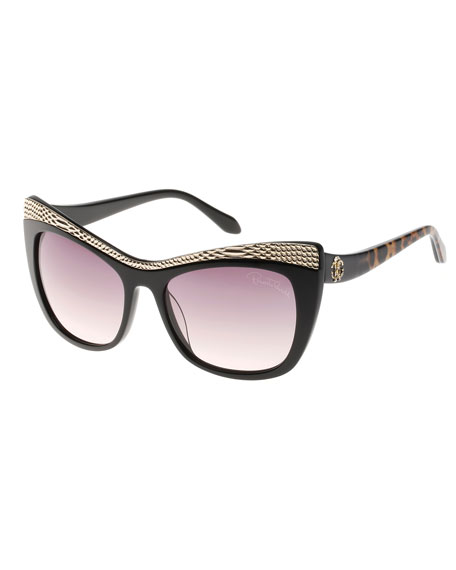 Blackleopard Sunglasses Muscida Cat Brow Eye Snake v8nOPym0Nw