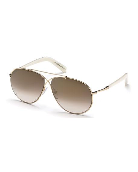 600efaa0032c TOM FORD Eva Lightweight Aviator Sunglasses