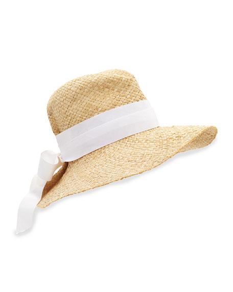 f2ad95b82cd Lola Hats First Aid Ribbon-Trimmed Sun Hat