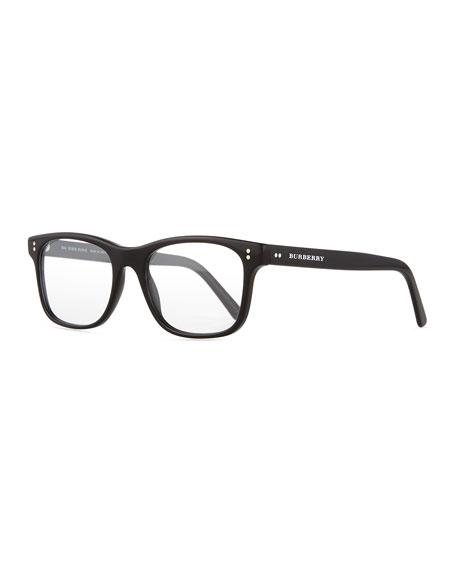 Burberry Square Optical Frames, Black