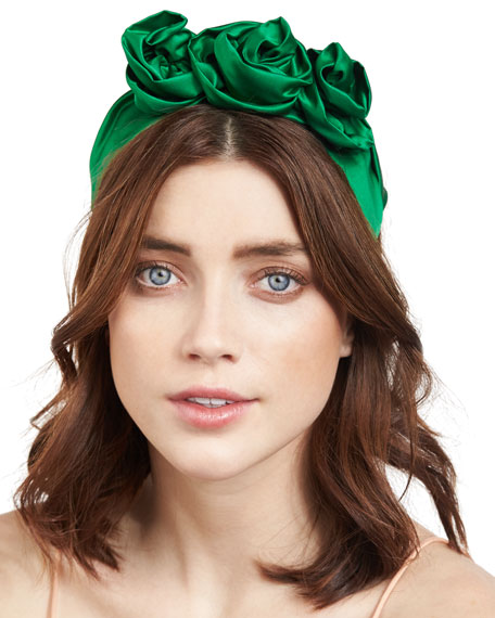Satin headband Jennifer Behr isV3MF