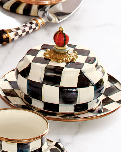 Courtly Check Butter Dish