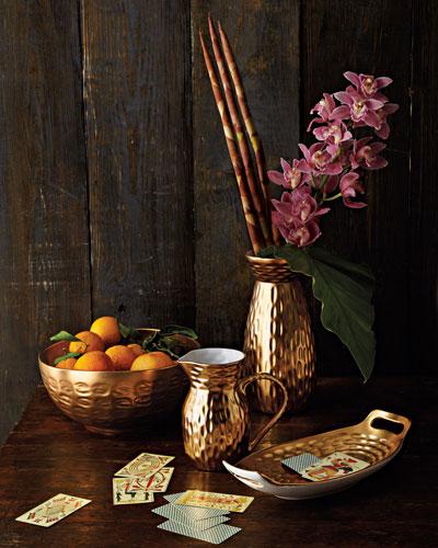 Gold Truro Bread Basket