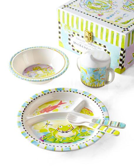 Frog Toddler Dinnerware Set  sc 1 st  Neiman Marcus & MacKenzie-Childs Frog Toddler Dinnerware Set