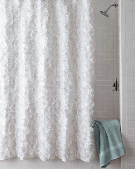 ruffle curtain buy shower curtains bed in white from bath beyond