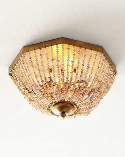 Pearl Flush-Mount Ceiling Fixture