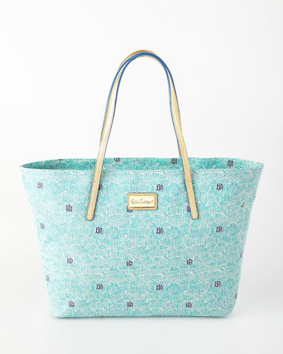 Shorely Blue Resort Tote