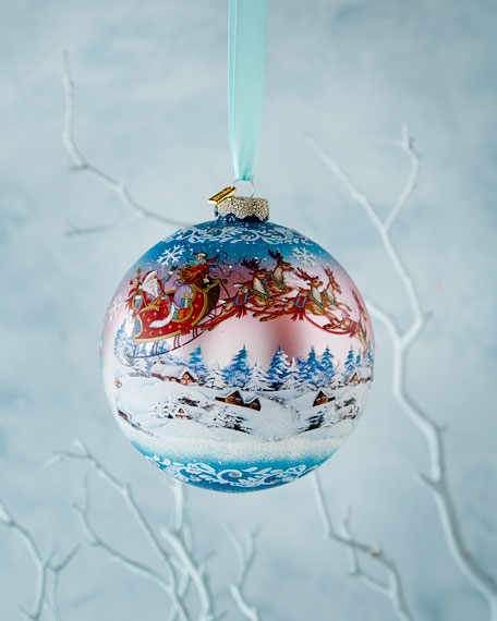 - G. DEBREKHT Up, Up, And Away Limited Edition Christmas Ornament