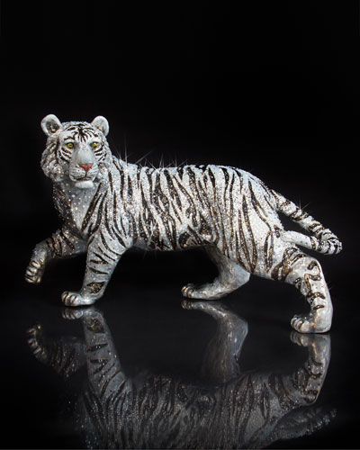20th Anniversary Limited Edition Opal Tiger Figurine