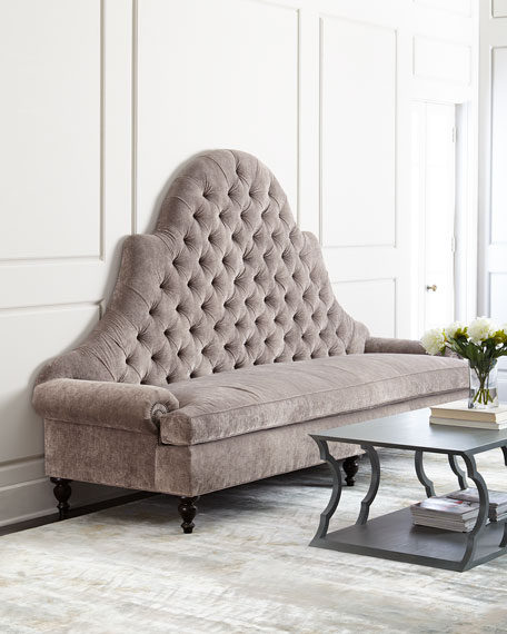 Old Hickory Tannery Regency Tufted Sofa